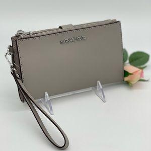 Michael Kors Large Double Zip Wallet Wristlet